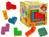 Magiczna kolorowa KOSTKA typu Tetris