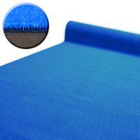 SZTUCZNA TRAWA SPRING niebieska gotowe wymiary 300x400 cm niebieski