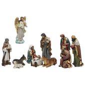 Christmas nativity set Christmas Planet 6838 25 cm (11 pcs)