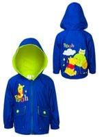 Kurtka przeciwdeszczowa Winnie the Pooh  r80 (DISBP5128602 Blue 12m)