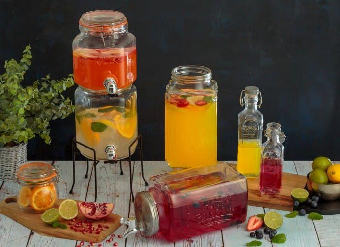Zestaw dystrybutorów do napojów Kilner na Arena.pl