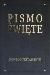 Pismo Święte Nowego Testamentu - De Luxe, grafit praca zbiorowa
