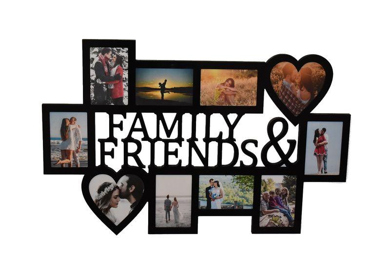 Multirama ramka na zdjęcia z napisem Family & Friends na Arena.pl