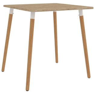 Stół jadalniany, 80 x 80 x 75 cm, metalowy