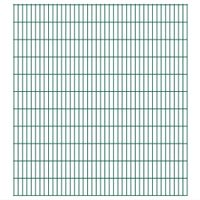 Panele ogrodzeniowe 2D - 2008x2230 mm 6 m Zielone VidaXL