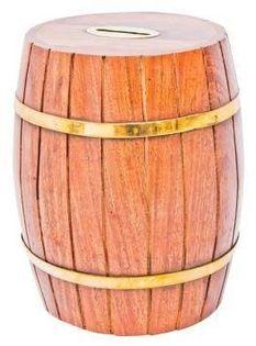 Skarbonka drewniana MIS-1163 wys. 17cm