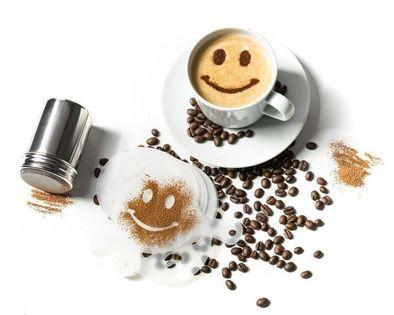 Szablony do kawy i shaker - zestaw UPOMINKARNIA