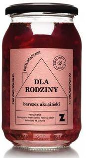 Zupa barszcz ukraiński bio 900 ml - zakwasownia