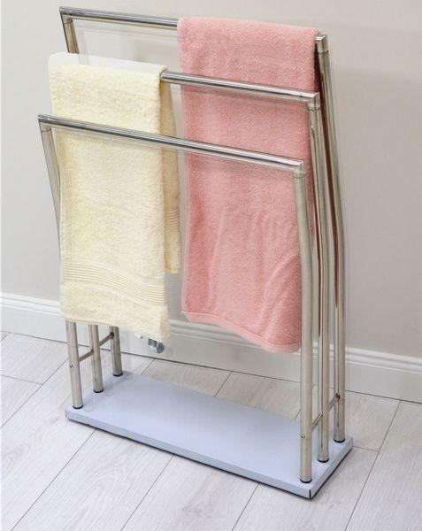 Wieszak Do łazienki łazienkowy Stojak Na Ręczniki Stojący