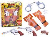 Zestaw kowboja rewolwer kowbojski pistolet ZA2452