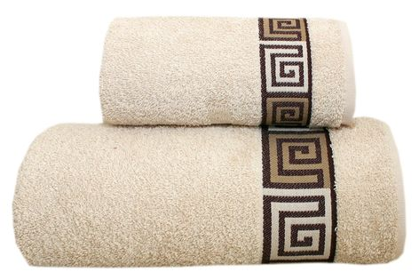Ręcznik Dunaj 70x140 Kremowy Frotex Greno