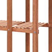 Regał Na Rośliny Z Drewna Cedrowego, 86 X 36 X 139 Cm zdjęcie 5