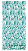 Ręcznik szybkoschnący Dr.Bacty XL 70 x 140 cm Kaktus Zielony
