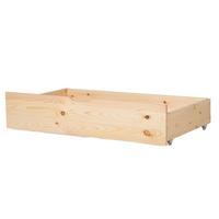 Zestaw 2 Szuflad Pod Łóżko Drewniany Jasny Rumilly