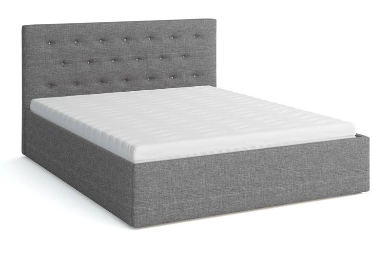 Łóżko tapicerowane z materacem 160x200 BIRD Star zdjęcie 4