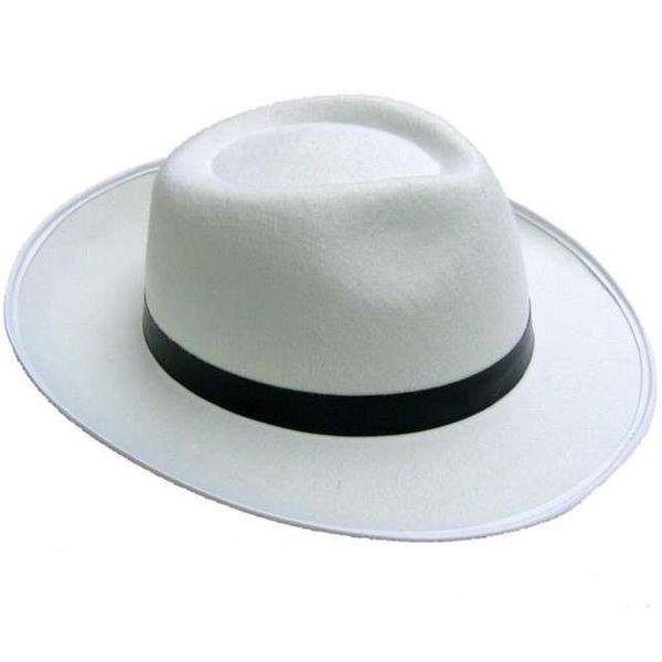 0269654d8 KAPELUSZ gangstera AL CAPONE biały strój JACKSON • Arena.pl
