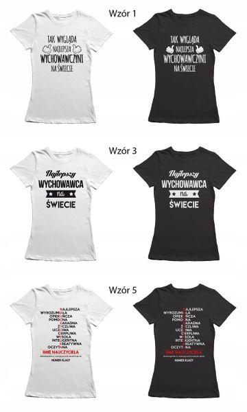 Koszulka dla nauczycielki prezent dzień T-shirt zdjęcie 10