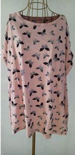 Capsule 2pack koszulek paski, motyle WS142 r. 58