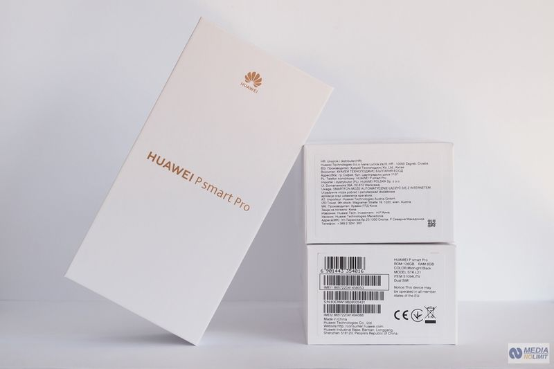 Huawei P smart Pro DS Black Polska Dystrybucja FV VAT 23% Gw 24M zdjęcie 6
