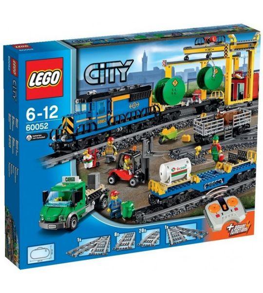 LEGO CITY 60052 Pociąg towarowy zdjęcie 1