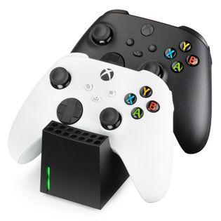 snakebyte XSX Twin:Charge SX stacja ładująca do Xbox Series S / X czarna 2x800