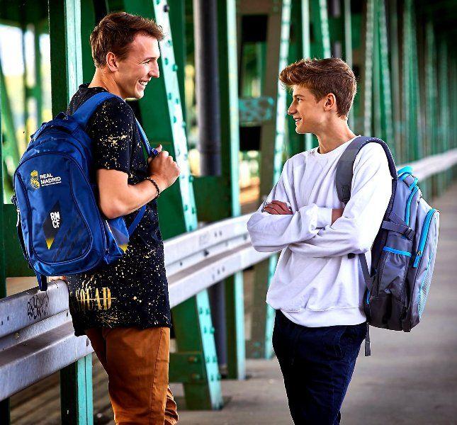 Plecak Szkolny REAL MADRYT Młodzieżowy RM-148 zdjęcie 6