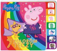 Peppa Pig Książka z registrami 7 kolorów tęczy opracowanie zbiorowe