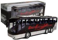 Autobus Wycieczkowy Turystyczny Z Napędem Czarny