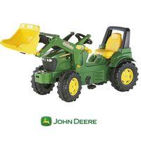 Rolly Toys rollyFarmtrac Traktor na pedały John Deere Łyżka 3-8 Lat