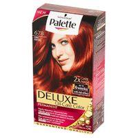 Palette Deluxe Oil-Care Color Farba Do Włosów Trwale Koloryzująca Z Mikroolejkami 678 Rubin
