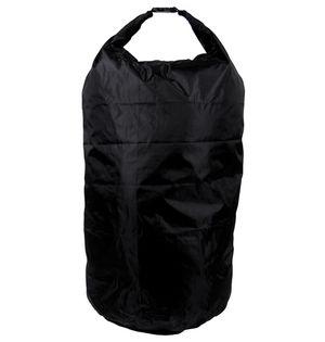 Duża torba wodoodporna 110 l czarna