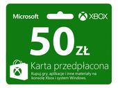 DOŁADOWANIE XBOX LIVE 50 PLN od PL FIRMY 50 ZŁ