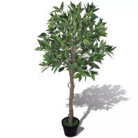 Sztuczne drzewko laurowe 120 cm z doniczką