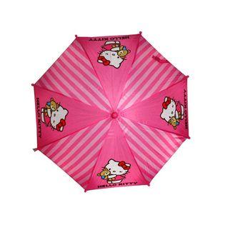 Parasolka dziecięca HELLO KITTY  różowa, wzór 1