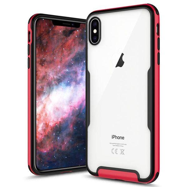 Zizo Fuse Case Etui ochronne iPhone Xs Max + szkło na ekran (czerwone/czarne) zdjęcie 1
