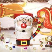 Santa Claus - Kubek Ceramiczny - Idealny Świąteczny Prezent Mikołaj