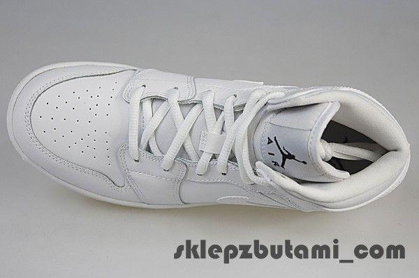 NIKE AIR JORDAN 1 MID BG 554725 110 Nike jr 38,5 EU   24,0 cm