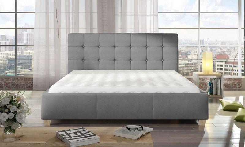 Łóżko Tapicerowane TERESSA 160x200+ Stelaż zdjęcie 2