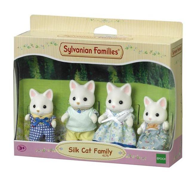 Sylvanian Families Rodzina jedwabistych kotków zdjęcie 2