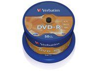 DVD-R VERBATIM 4.7GB X16 MATT SILVER (50 CAKE)