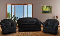 Zestaw kanap do salonu ALEX 2+1+1 komplet wypoczynkowych mebli