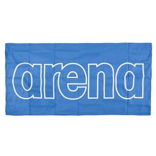 ARENA RĘCZNIK MIKROFIBRA GYM SMART TOWEL ROYAL-WHITE 100X50 CM
