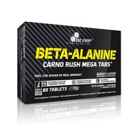 Olimp Beta-alanine Carno Rush 80 kapsulek Energia Wytrzymałość+GRATIS!