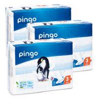 Pieluszki Pingo Ultra Soft 3 MIDI 4-9kg 132szt. (3x44)