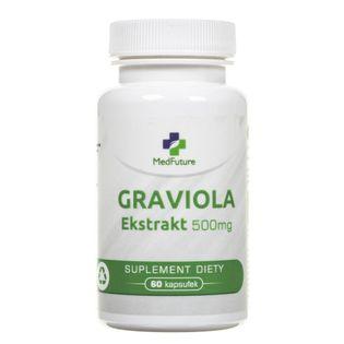 MedFuture Graviola Ekstrakt 500 mg - 60 kapsułek