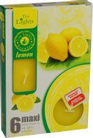 Duże podgrzewacze Tealight Maxi a'6 Lemon