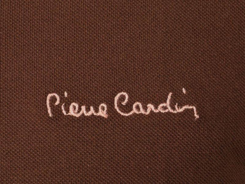 Polo Pierre Cardin Pinecone - brązowy M na Arena.pl