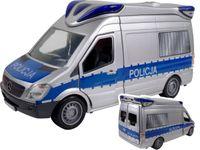 DICKIE DUŻY RADIOWÓZ POLICJA 33 CM ŚWIATŁO +DŹWIĘK