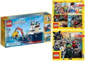 LEGO CREATOR 31045 BADACZ OCEANÓW + 2 KATALOGI LEGO