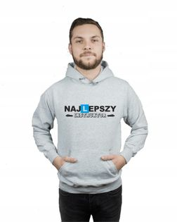 Bluza kangur męska NAJLEPSZY INSTRUKTOR r XL